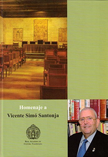 Homenaje a Vicente Simó Santonja