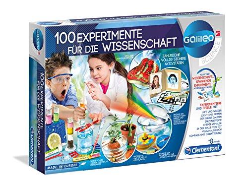 Clementoni 59076 Clementoni-59076-100 Experimente für die Wissenschaft, Mehrfarben