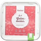 Xucker Gelier Xucker 4kg kalorienreduzierte 3:1 Gelierzucker Alernative - aus Xylit - Birkenzucker - aus Frankreich, zuckerfrei, vegan und glutenfrei