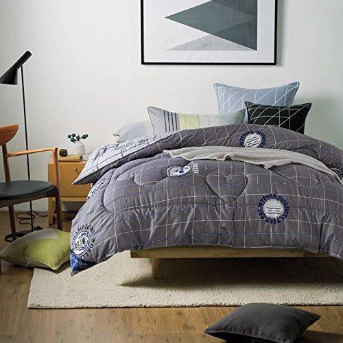 Polyester Betten/Bettwaren Wärme Voll/Queen/Voll/Twin Size Daunendecke Bettdecke einfügen, hypoallergen, genäht, Drucken Bettdecke Kern, Mcghan, 200 x 230 cm (3 Kg)