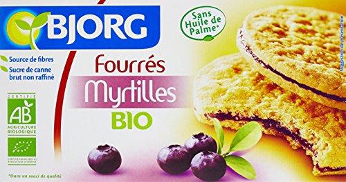 Bjorg Biscuits Fourrés aux Myrtilles Bio 175 g