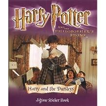 Harry Potter (Movie)- Jigsaw Sticker Book - Harry & the Dursleys(Pb): Harry and the Dursleys