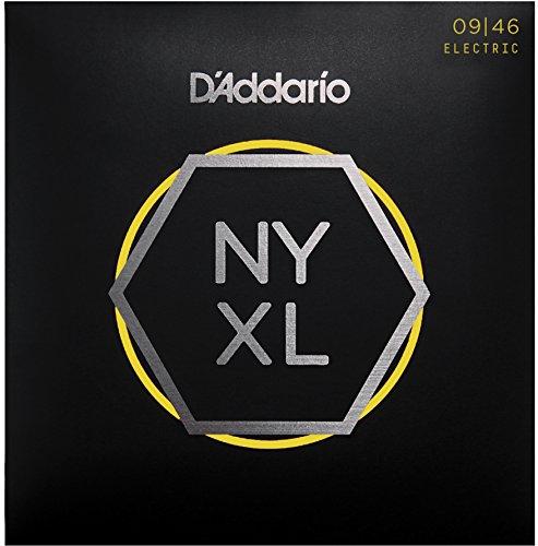 D'Addario NYXL0946 - Juego de cuerdas eléctrica