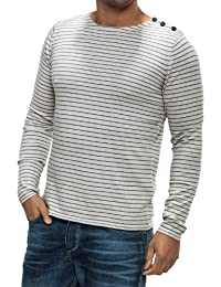 SELECTED HOMME Herren Pullover Boat split crew neck