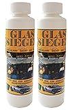 2 Flaschen Glassiegel, Scheibenversiegelung