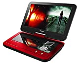 #9: Impecca Portable Dvd Player With 10.1 Inch Swivel Screen - Scarlet Dynamite