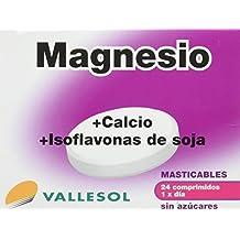 VALLESOL MG+CA+ISOFLAVONAS 24 C MASTICAB