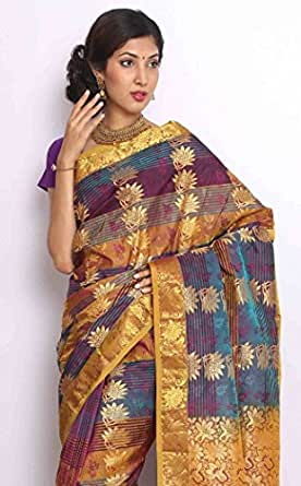 Sudarshan Silks Silk Saree (Rran11_Multi-Coloured)