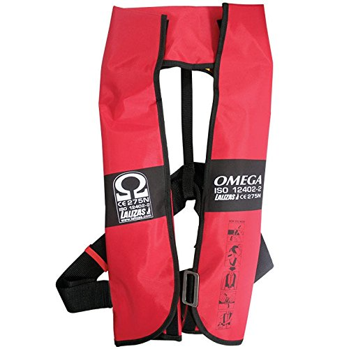 51aY4KWNnBL. SS500  - Lalizas Omega 275 Newton Fully Automatic Life Jacket with Harness