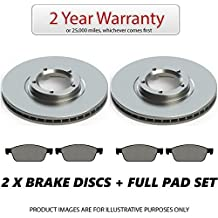 Firstlink CBD37129S x2 & FCP1234 x1 Rear Brake Discs and Pads