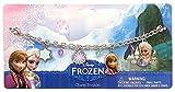Disney Frozen 755055 - Bettelarmband mit 4 Anhängern auf backercard, 18 x 0.5 x 9 cm