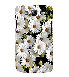 White Flower 3D Hard Polycarbonate Designer Back Case Cover for Samsung Galaxy S3 Neo i9300i :: Samsung I9300I Galaxy S3 Neo :: Samsung Galaxy S III Neo+ I9300I :: Samaung Galaxy S3 Neo Plus