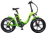 "Neon Bike Plegable Bicicleta Electrica Gran Neumatico Fat 1 con Batería Samsung 350W, ""20x4..."