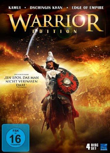 Preisvergleich Produktbild Warriors Edition (Kamui - The last Ninja / Dschinigs Khan - Der blaue Wolf / Edge of the Empire) [4 DVDs] [Collector's Edition]