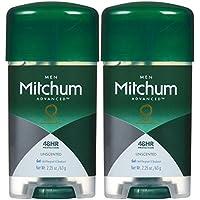 Mitchum Clear Gel Antiperspirant & Deodorant for Men, Unscented - 2.25 oz - 2 pk by Mitchum preisvergleich bei billige-tabletten.eu