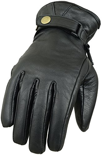 Classico in vera pelle guanti da moto