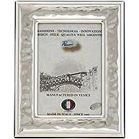 CANAL GRANDE Cornice per Foto Portafoto Argento Artigianale Made in Italy Foto ca.9x13cm