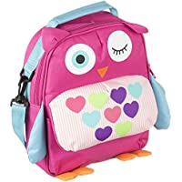 My Doodles Universal Child Friendly Back-to-School Fun Protective Cushioned Adjustable Secure Novelty Children's Character Rucksack with Interior Sleeve for 6-8 inch Tablets - Owl