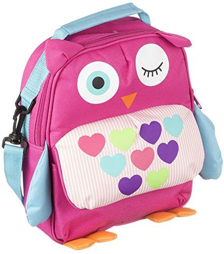My Doodles Universal Kinderrucksack Kindergartentasche für Schulkinder mit süsser Eulen-Figur und Inneren Tasche für 6-8 Zoll (15,24 - 20,32 cm) Tablets (Tablet-cases 8-zoll - Für Ein)