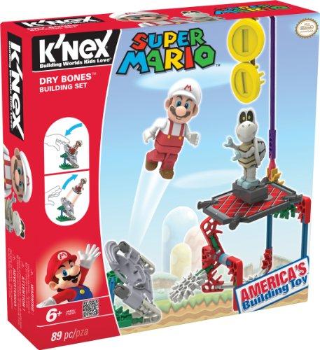 K'NEX 33131D - Bauset Super Mario Enemy Serie 1 Dry Bones (Super Mario Dry Bones)