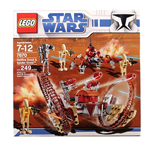 LEGO Star Wars Hail-Fire Droid & Spider Droids by LEGO