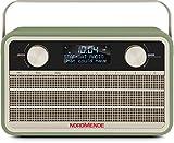 Nordmende Transita 120 Digital-Radio (portabel, DAB+, UKW, 24 Stunden Akku, Aux In, Weckfunktion, 2 Weckzeiten, Sleeptimer, Snooze-Funktion, Kopfhöreranschluss) grün