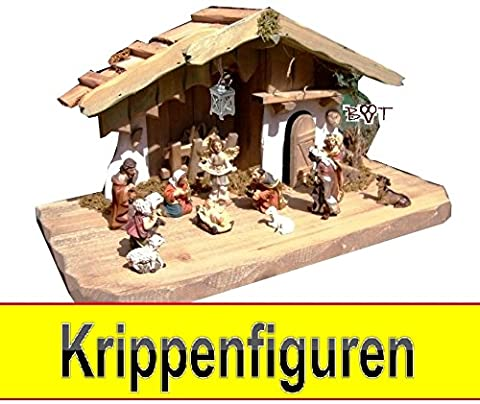 Nativity Figurines, High-Quality Finish and Facial Expressions Mini 5 cm Figures