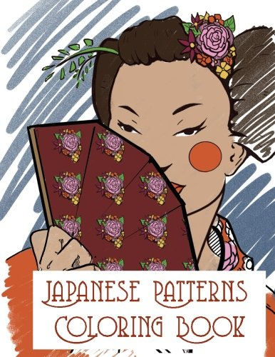 Japanese Patterns Coloring book