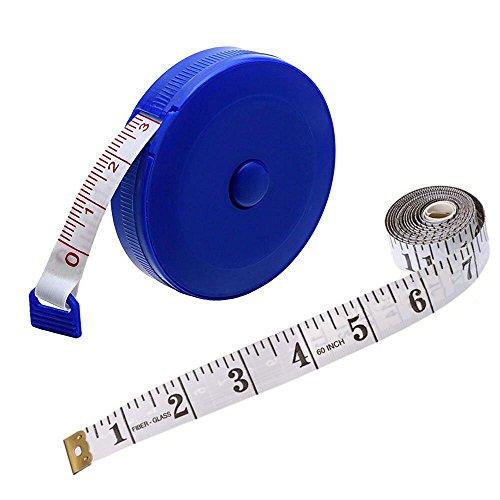 Schneidermaßband Maßband Bandmaß bandmass, Wartoon 150cm 60 Zoll tragbare Nähen einziehbares Massband+weich Massband