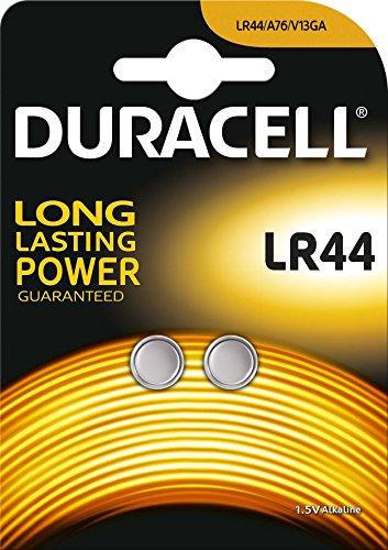 DURACELL Alkaline Knopfzelle ´Electronics´, LR44, 2er