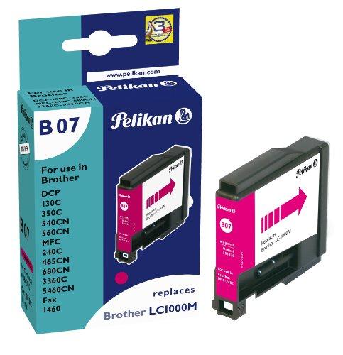 Preisvergleich Produktbild Pelikan Druckerpatrone B07 ersetzt Brother LC1000M, Magenta