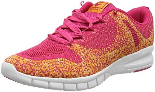 Gola Tarum, Chaussures de Running Entrainement Femme Rose (Fushia/Ornage)