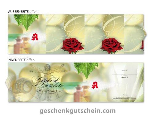10 Stk. Premium Booklet Gutscheine für deutsche Apotheken AP705, LIEFERZEIT 2 bis 4 Werktage !