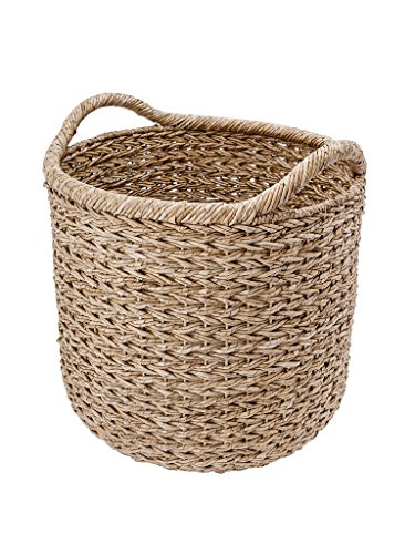 KOUBOO Handwoven Decorative Storage Basket, Natural, X-Large (Natural X-large,)