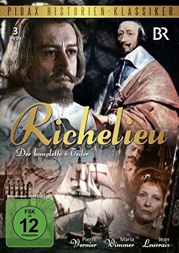 Bild von Richelieu - die komplette Serie (Pidax Historien-Klassiker) [3 DVDs]