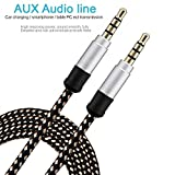 Best G-Cord Bluetooth Headphones - GKP PRODUCTS Nylon Braided Premium 3.5mm Aux Audio Review