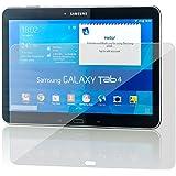 Saxonia. Displayschutz Folie aus Gehärtetem Glas für Samsung Galaxy Tab 4 10.1 Glasfolie Hartglas | HD Klar Transparent