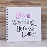The Bright side Dream Wedding Here We Come Spiral Bound Notebook