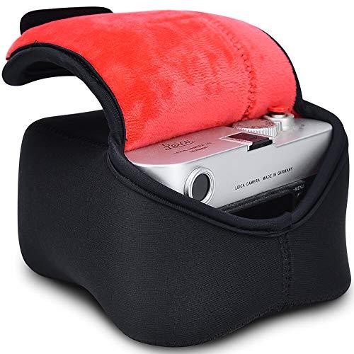 Kamerahülle, CADeN DSLR Kameratasche Spiegelreflexkameras Neopren wasserdicht Kamera-Schutzhülle für Canon Nikon und Sony (S)
