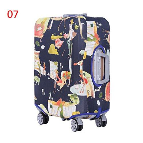Meijunter Neu Elastisch Dustproof Gepäck Koffer Trolley Schutz Tasche Abdeckung Anti-Kratzer #07