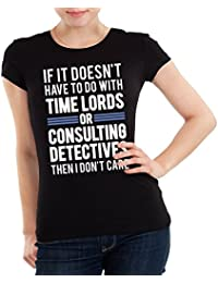 Getting Shirty Time Lords & Consulting Detectives (Inspired by Doctor Who & Sherlock) Women's T-Shirt