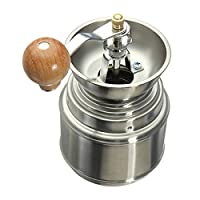 Stainless Steel Manual Spice Bean Coffee Grinder
