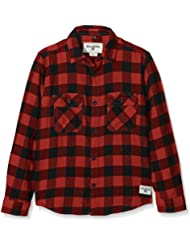 Billabong All Day Flannel Chemise manches longues Garçon Brick FR : 14 ans (Taille Fabricant : 14)