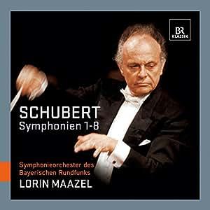 Schubert: Symphony Nos 1-8 (Complete Cycle) (Lorin Maazel , Symphonieorchester des Bayerischen Rundfunks ) (BR Klassik : 900712)