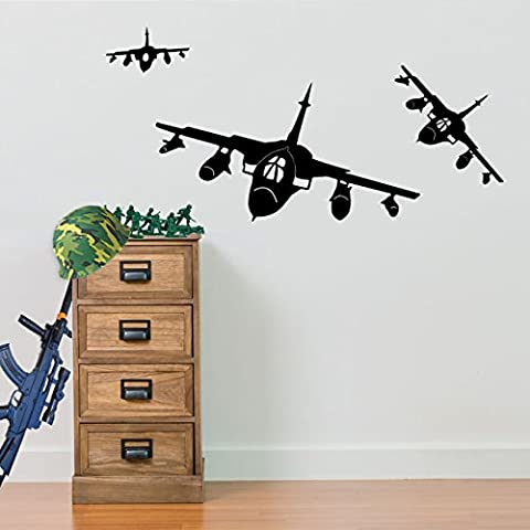 Army Fighter Planes, Army Jets 01, Helicopter Wall Decorations Window Stickers Wall Decor Wall Stickers Wall Art Wall Decals Stickers Wall Decal Decals Mural Décor Diy Deco Removable Wall Decals Colorful