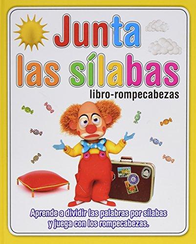 Junta Las Silabas. Libro Rompecabezas