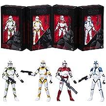 Star Wars The Black Series Edición Limitada Clone Troopers of Order 66 Figuras de Acción de 15 cm