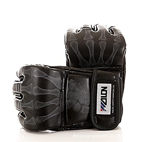 Oft Sparring MMA Pro Grappling Gloves MMA Punch Bag Training Gloves Boxing Gloves black