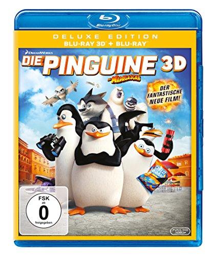 Die Pinguine aus Madagascar  (+ Blu-ray 2D) Preisvergleich