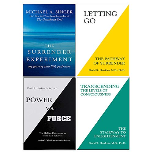 Price comparison product image Surrender Experiment,  Letting Go,  Power Vs. Force,  Transcending The Levels Of Consciousness 4 Books Collection Set